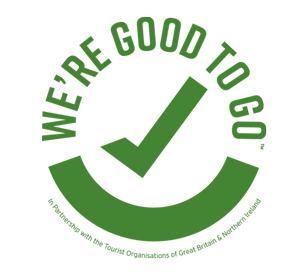 Visit England 'We're Good to Go' logo
