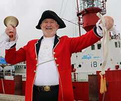 James Cole, town crier