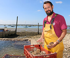 Tom Haward, oysterman