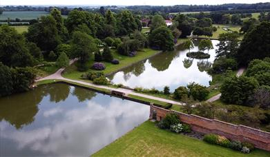 Aerial view © Marks Hall Estate