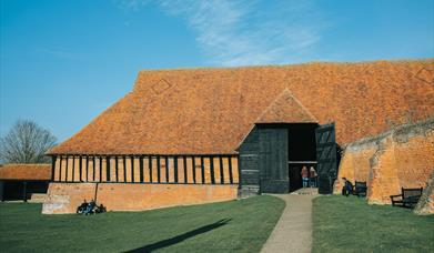 Exterior view of Cressing Temple Barns