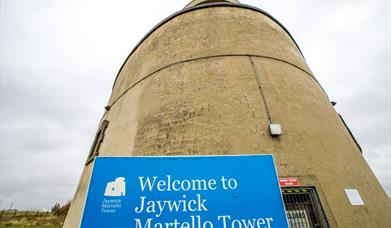 External view of Jaywick Martello Tower