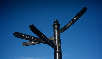 Harwich Sign post