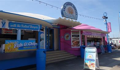 The Three Shells Beach Cafe