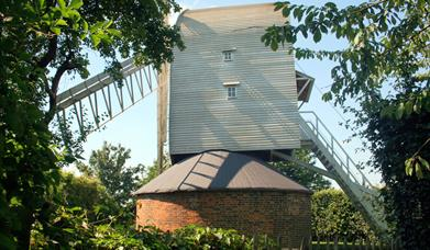 View of Finchingfield Mill