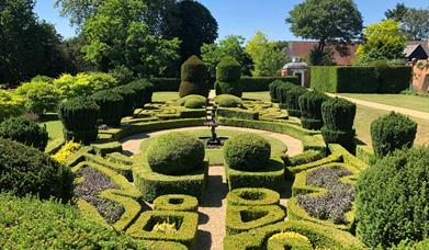 The Dutch Garden in Bridge End Garden